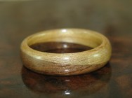 Apple Wood and Chocolate Walnut ring