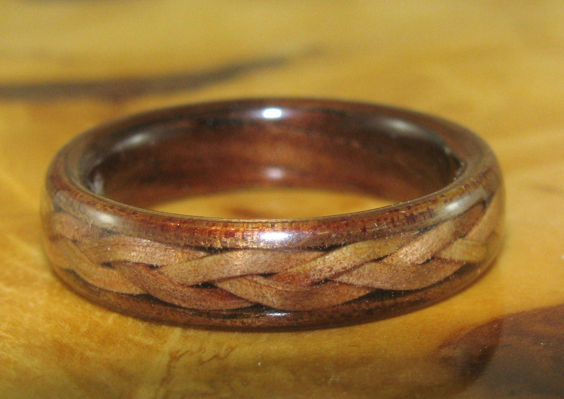 bands for the love of wood rings